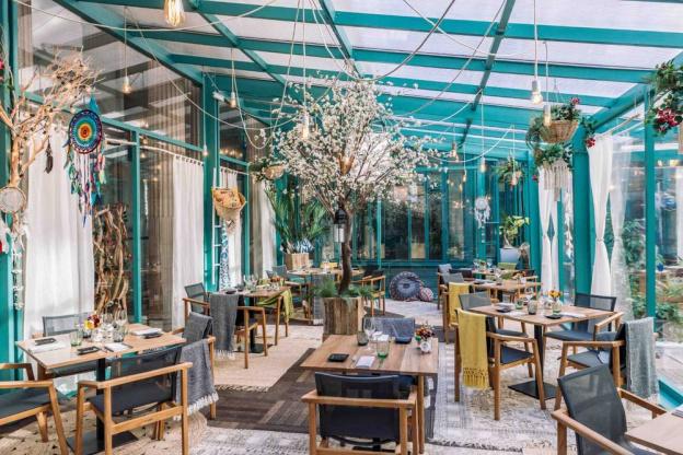 Le Jardin D Hiver Le Nouveau Restaurant Ephemere De L Hotel The