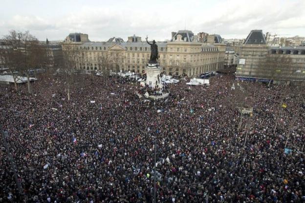 Se Lever Pour Le Climat Place de La République à Paris le 27 janvier 2019