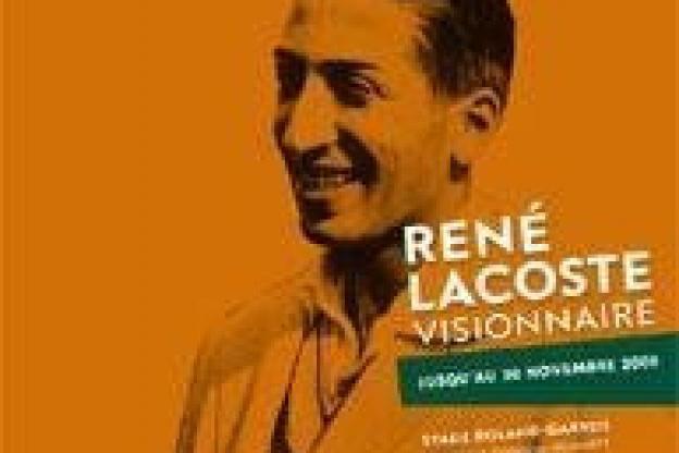 4db24b36e4 Alors que les joueurs s'affrontent sur les cours, le Musée de Roland Garros  rend hommage à René Lacoste jusqu'au 30 Novembre. Une légende du tennis  français ...