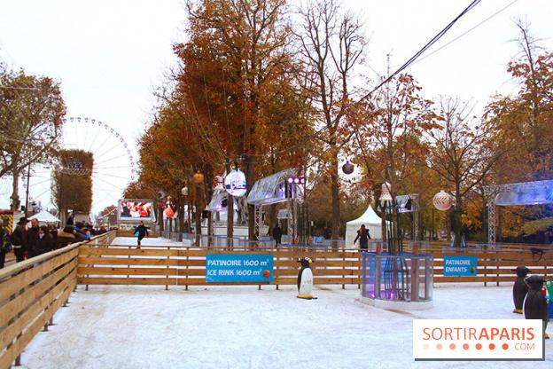 marché de noel champs elysées 2018 patinoire La patinoire de Noël des Champs Elysées   Sortiraparis.com marché de noel champs elysées 2018 patinoire