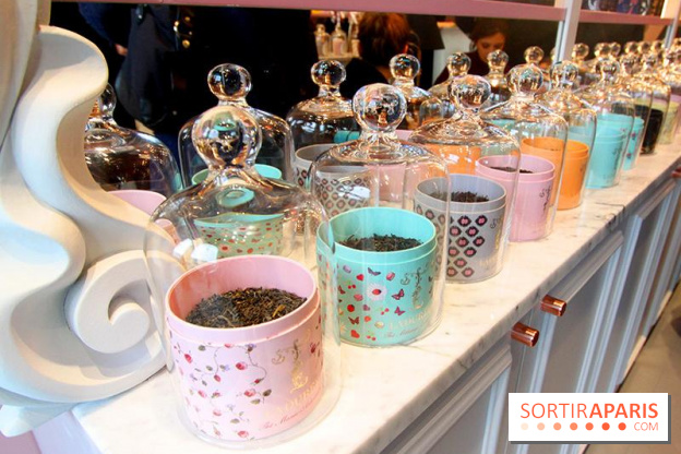 Tea and beauty by Ladurée, the first store in Paris