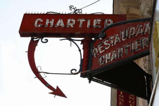 Christmas Eve 2018 at Paris Bouillon Chartier on a budget!