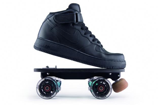 clip out roller skates flaneurz x veja new collection
