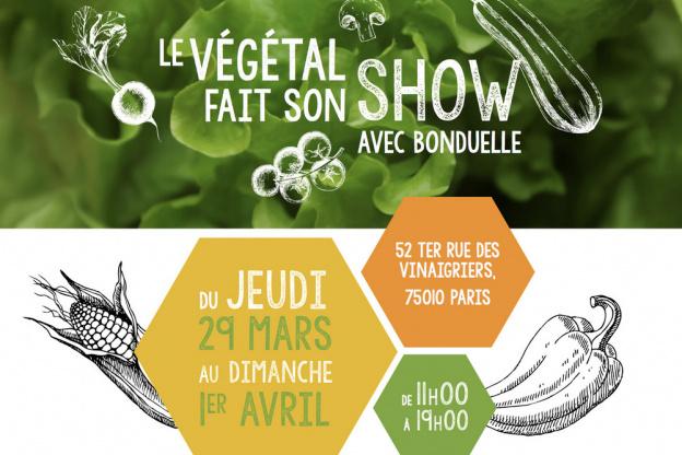 Le Vegetal Fait Son Show Avec Bonduelle