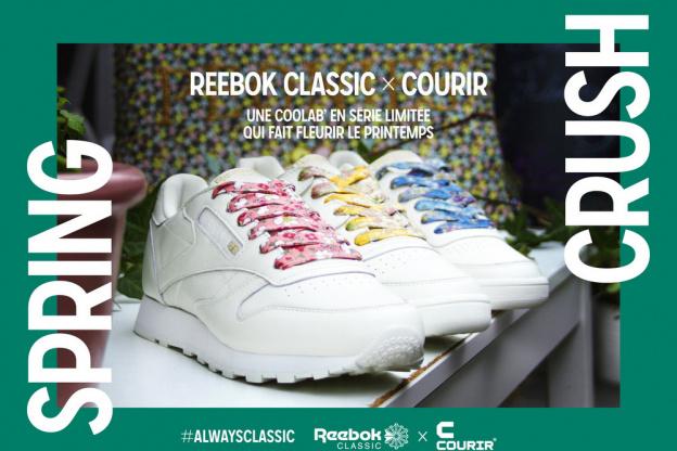 caf8206eb9d Spring crush by Reebok x Courir   la nouvelle collab mode du printemps !