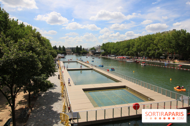 0c2fa594a8 La baignade Bassin de la Villette La baignade Bassin de la Villette ...