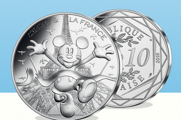 monnaie de paris mickey or