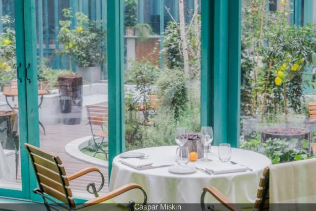 Restaurant Ephemere Le Jardin D Hiver A L Hotel The Westin Paris