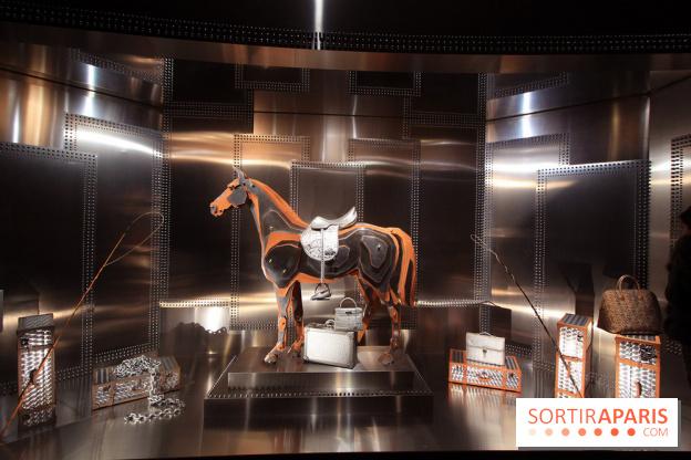 2bf6586c29 Hermès à tire d'aile au Grand Palais, l'expo des vitrines de Leïla ...