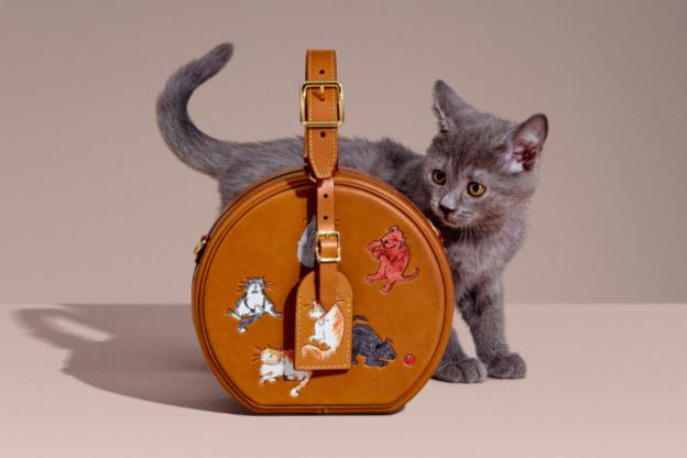 La nouvelle collection animale de Louis Vuitton x Grace Coddington ... ce4081443be