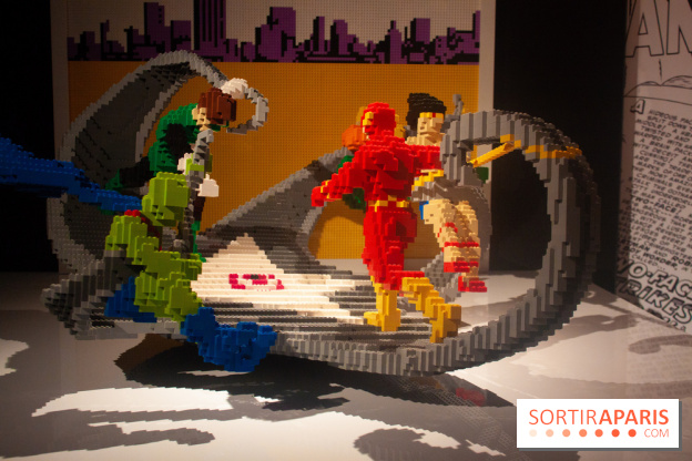 the art of the brick lego dc super heroes a nathan sawaya