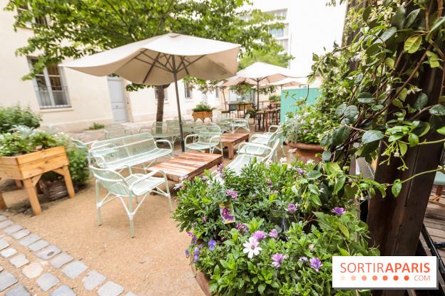 les belles plantes restaurant terrasse du jardin des plantes. Black Bedroom Furniture Sets. Home Design Ideas