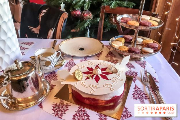 dessert pour noel 2018 Yule log 2018 by Norwegian chef Sverre Saetre for Ladurée  dessert pour noel 2018