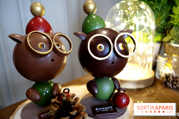 noel des animaux 2018 paris Christmas chocolates 2018 by Edwart Chocolatier Paris  noel des animaux 2018 paris