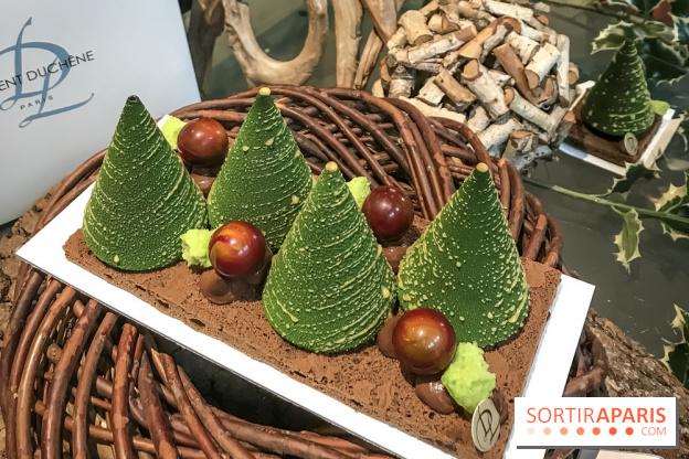 dessert tendance noel 2018 La bûche de Noël 2018 du MOF Laurent Duchêne   Sortiraparis.com dessert tendance noel 2018