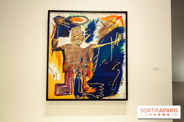 basquiat the compelling exhibition at paris fondation louis vuitton extra time. Black Bedroom Furniture Sets. Home Design Ideas