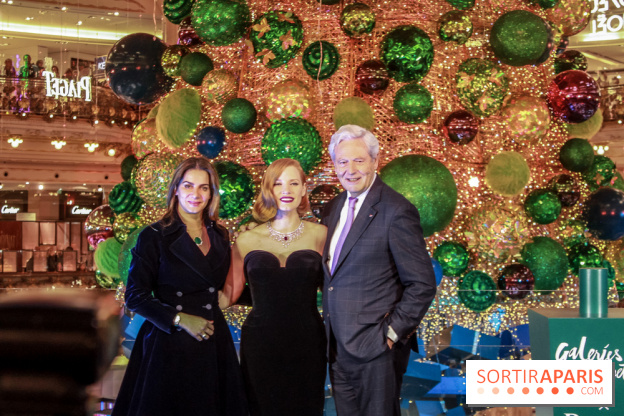 Inauguration Of Paris Galeries Lafayette Christmas Window And Tree