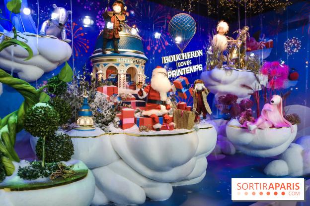 Christmas 2018 in Paris: program of the celebrations at Printemps ...