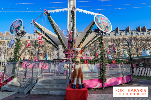 Marche De Noel Du Jardin Des Tuileries Photos Et Video