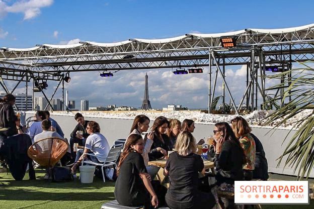 The Jardin Suspendu 2019: the huge green rooftop of Paris Expo Porte ...