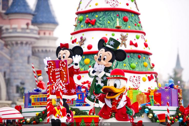 Christmas Minnie Mouse Disneyland.Christmas 2019 At Disneyland Paris Sortiraparis Com