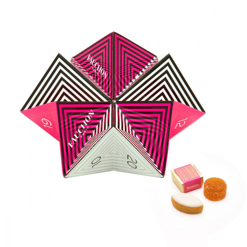 le calendrier de l 39 avent origami de fauchon. Black Bedroom Furniture Sets. Home Design Ideas