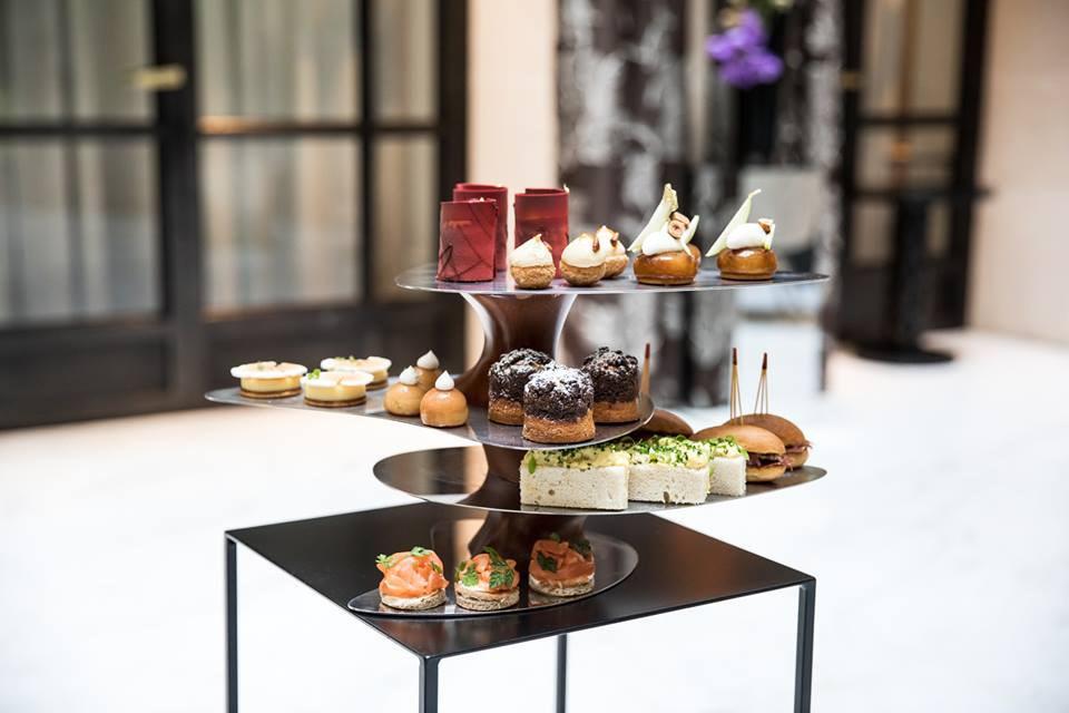 Le Tea Time Du Burgundy Paris Pause Gourmande A Madeleine