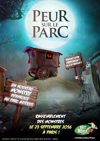 Les monstres du parc ast rix manifestent paris - La cuisine du monstre tours ...