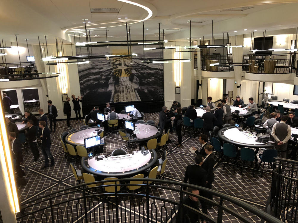 Paris Club Elysées: opening of the 1st poker room on the