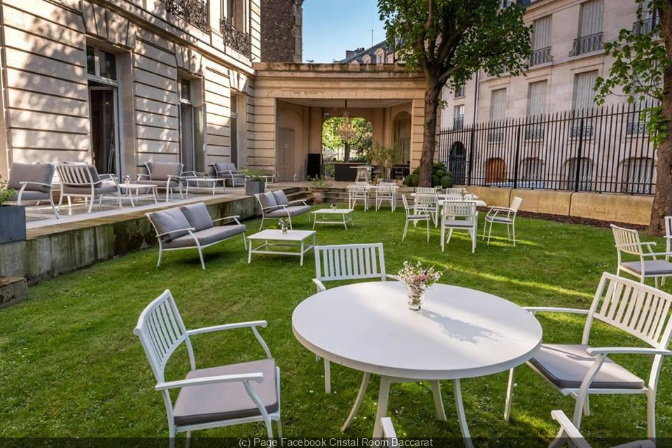 Cristal Room Baccarat Chic And Peaceful Terrace Sortiraparis Com