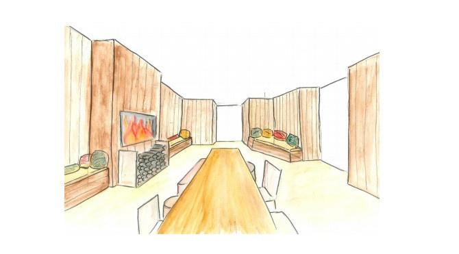 le refuge de saint germain des pr s le pop up hivernal de l 39 h tel pont royal paris. Black Bedroom Furniture Sets. Home Design Ideas