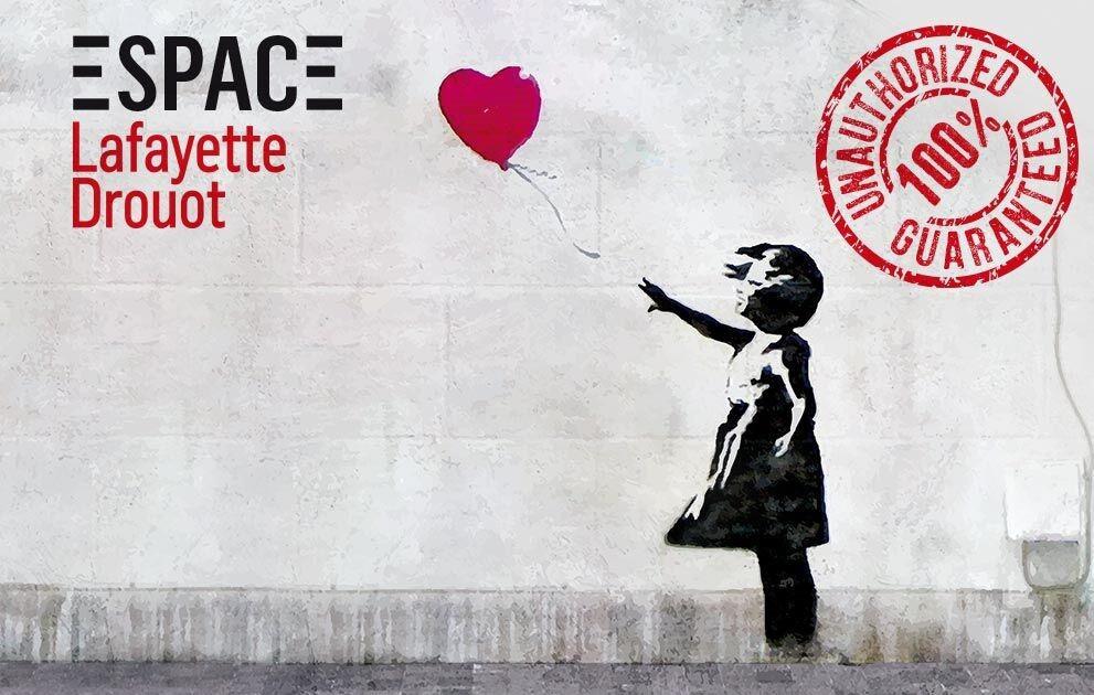 The World of Banksy : expérience immersive autour de Banksy à l'Espace Lafayette-Drouot à Paris - Sortiraparis.com