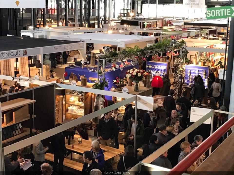Salon Art&Déco 2019 à la Grande Halle de La Villette - Sortiraparis.com