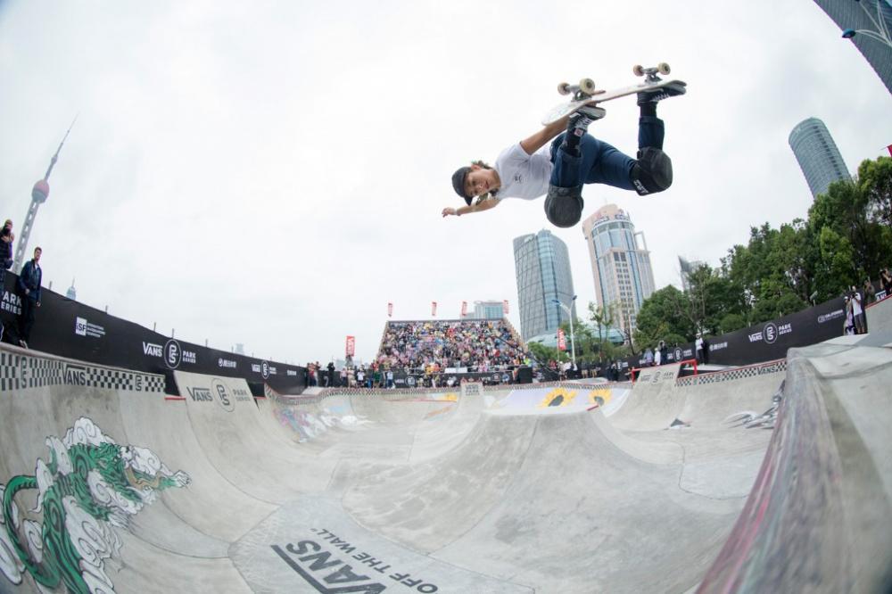 Vans Park Series   Une  U00e9tape Du Championnat De Skate  U00e0