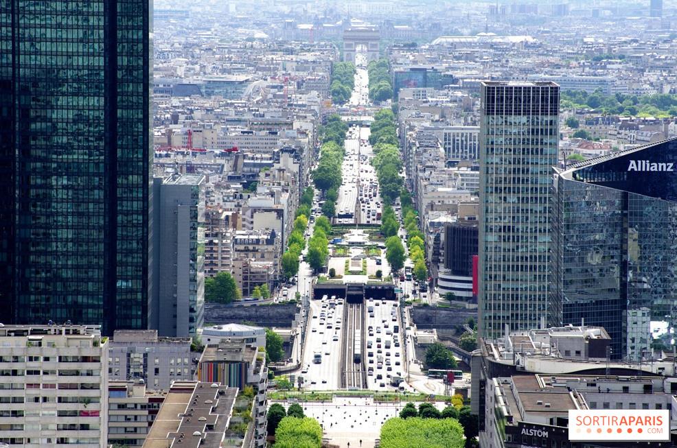 Rooftop De La Grande Arche Dfense Une Vue Imprenable Sur Paris