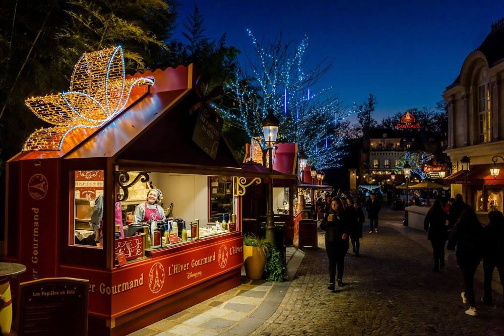 Image De Noel Walt Disney.L Hiver Gourmand Park Walt Disney Studios Christmas Market