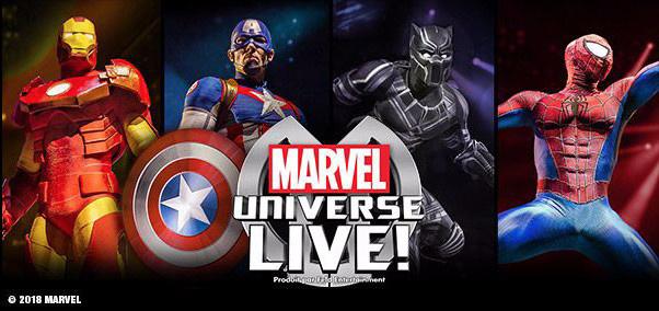 Marvel Paris La Defense Arena Universe Live À LVpGjUSqzM