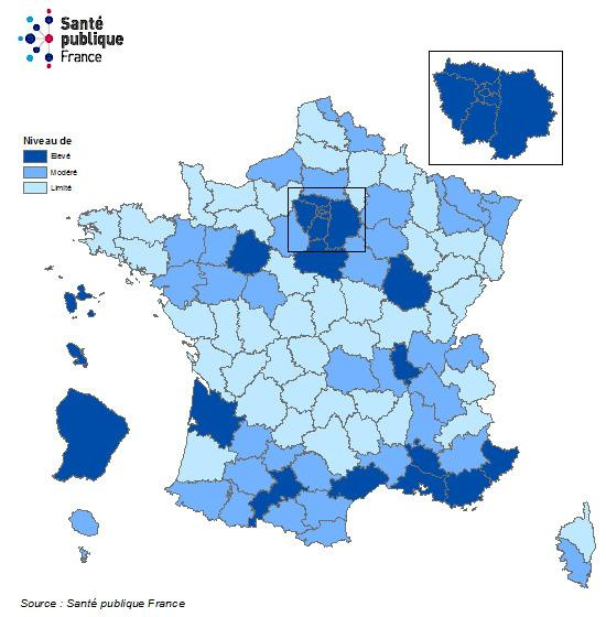 Map Of France Covid The List Of Departments In Vulnerable Situations World Today News