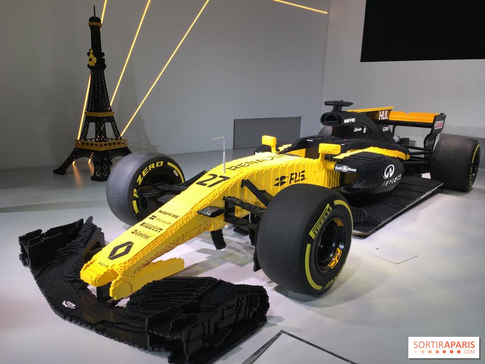 Decouvrez Une Formule 1 Renault Rs17 100 Lego A L Atelier Renault