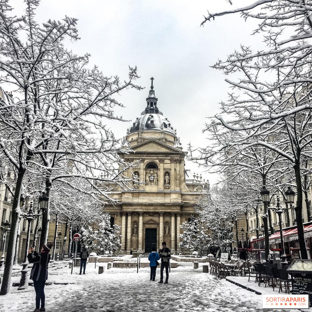 De La Neige Prevue A Paris Et En Ile De France Sortiraparis Com