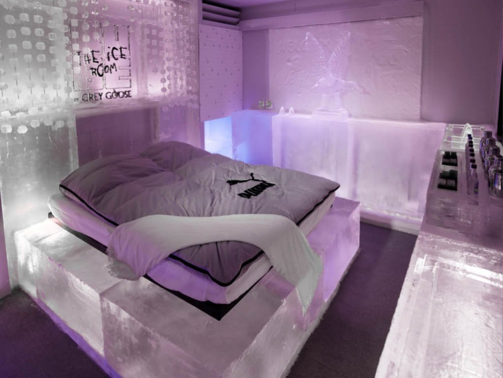 Ice Room At The Kube Hotel