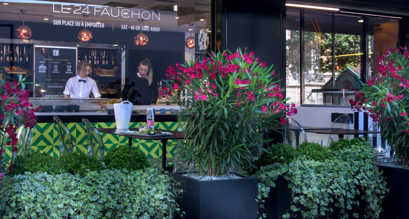 fauchon carte noel 2018 Fauchon reopens restaurant Le 24 terrace for summer 2018  fauchon carte noel 2018