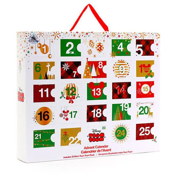 Le calendrier de l'avent 2018 Tsum Tsum   Sortiraparis.com