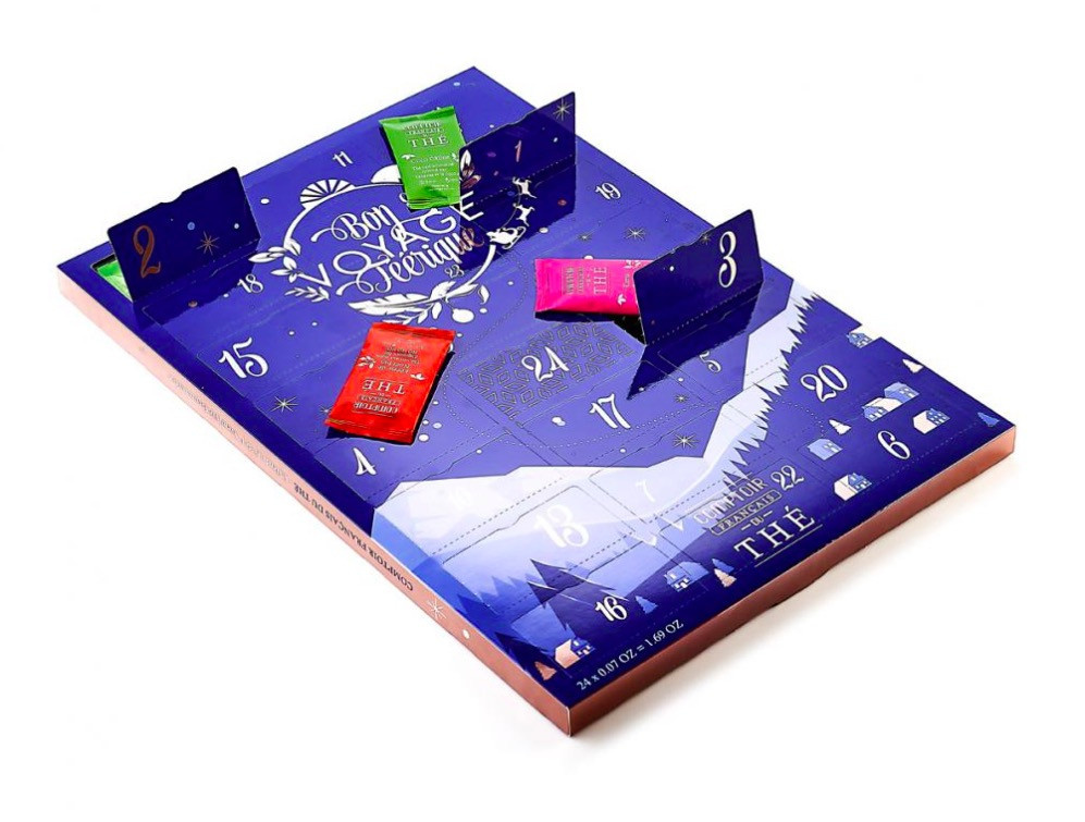 Advent Calendar 2020 by Comptoir Français du Thé   Sortiraparis.com
