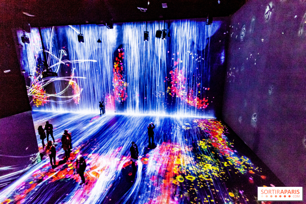 Teamlab The Immersive And Digital Exhibition At Paris La