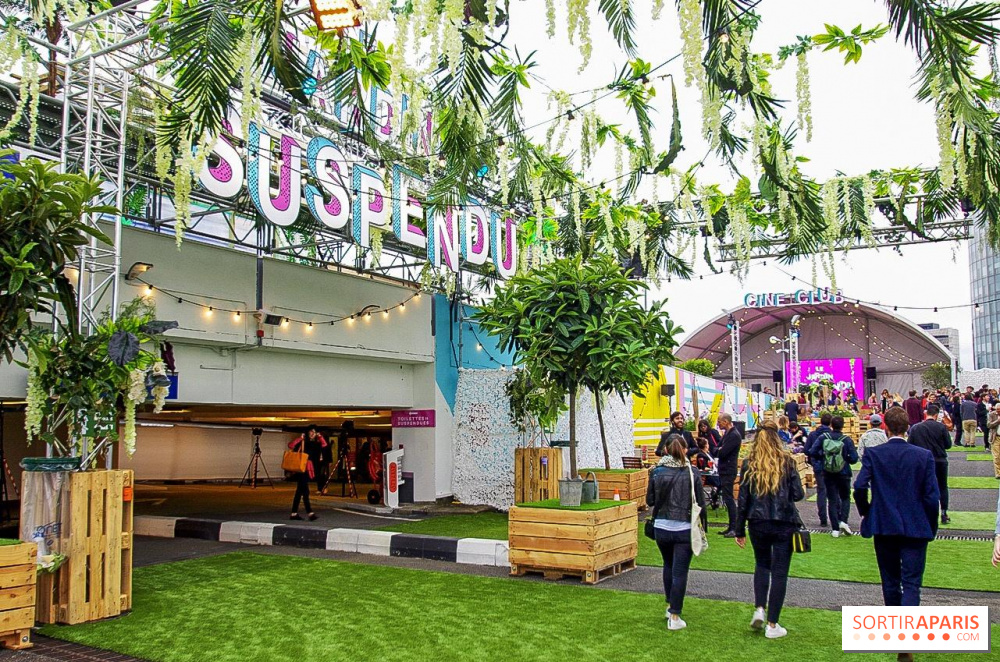 Opening of the Jardin Suspendu: the huge green rooftop of Paris Expo ...