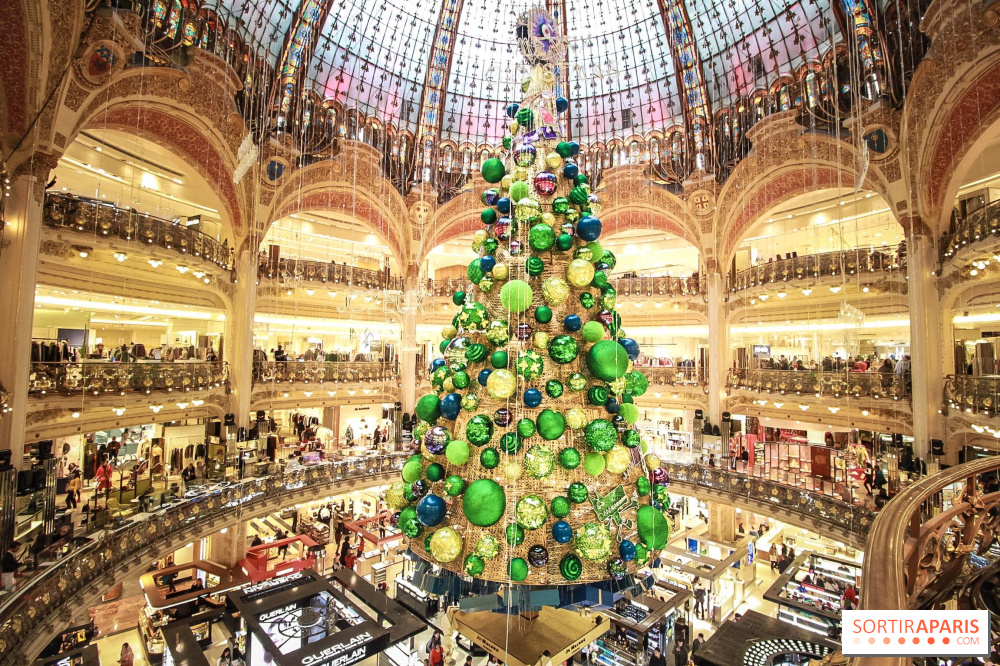 Image result for PARIS: Galeries Lafayette christmas 2018