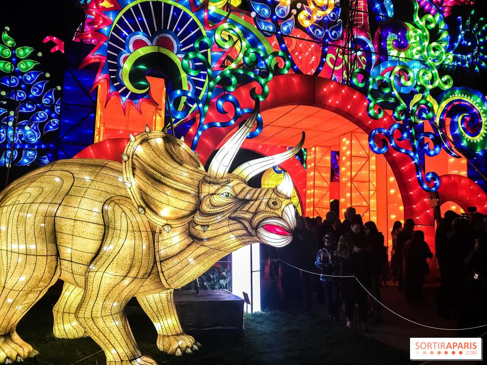 Especes En Voie D Illumination Le Festival Des Lumieres Au Jardin