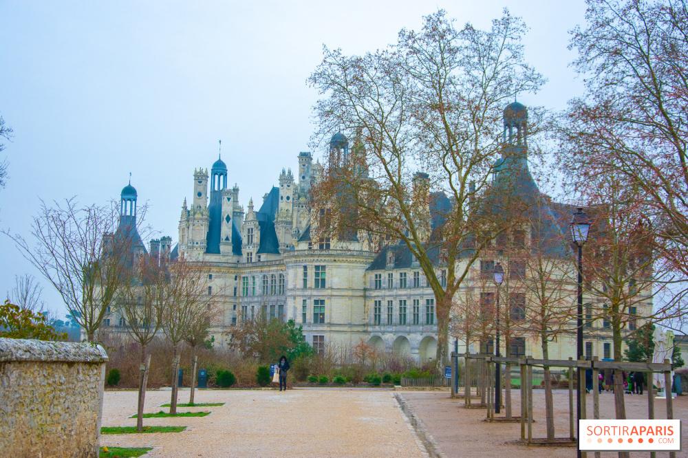 Coloriage Chateau Vaux Le Vicomte.Noel 2018 Au Chateau De Chambord Sortiraparis Com