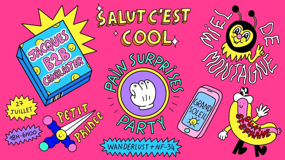 Pain Surprises Party au Wanderlust et NF-34 - Sortiraparis com
